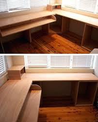 desk one sheet plywood computer desk build plywood computer desk