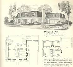 vintage house plans french mansards 6 antique alter ego