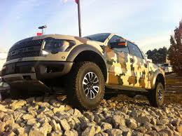 2014 Ford Raptor Truck Accessories - camo 2013 f150 svt raptor youtube