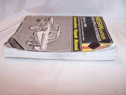 nissan pathfinder service manual haynes nissan datsun pickups pathfinder 1980 to 95 repair manual