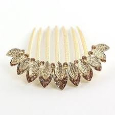 decorative hair combs decorative hair comb combc0048 yellow to view further for