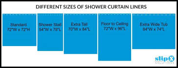 What Is Standard Shower Curtain Size Standard Shower Curtain Size Length Home And Curtains