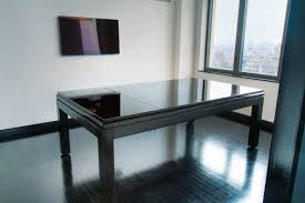pool table converts to dining table pool dining tables with contemporary folding marble top design for