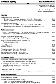 Academic Resume Builder Academic Resume Format Apply For A Phd How To Write Your Cv