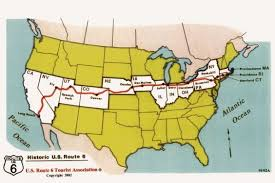 road trip map of usa drive cross country on us route 6 massachusetts road trips and