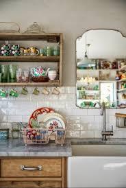 cuisine boheme chic étagères ouvertes dans la cuisine 53 idées photos