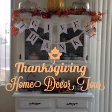 thanksgiving home decor tour 2014 youtube