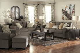Chair And Ottoman Sets Transitional Chair And A Half With Coil Seating Cushion By