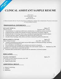 Nurse Assistant Resume Sample by Doc 525679 Clinical Medical Assistant Resume Sample Template