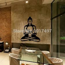 wall decal cute vinyl sticker home arts wall decals buddhism