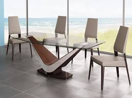 Glass Top Pedestal Dining Room Tables by Contemporary Furniture Dining Table Have A Cheerful Dining