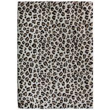 Safavieh Leopard Rug Snow Leopard Carolina Fleece Rug 63x90