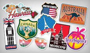 travel stickers images Best selling travel stickers stickeryou products jpg
