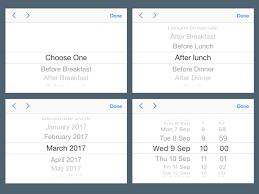 ios 11 ui pickers for sketch 72pxdesigns