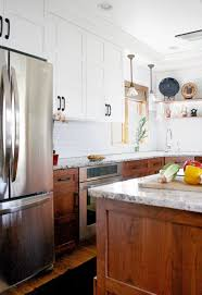 best method for staining kitchen cabinets white 15 stunning kitchens with stained cabinets sincerely