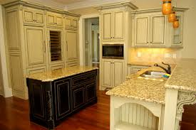 antique glazed cabinetry traditional kitchen atlanta by