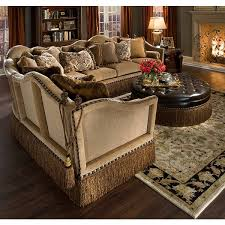 Sectional Sofas Houston Lorrane Country Mahogany Sectional Rachlin Furniture