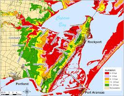 tamucc map surge maps coastal bend