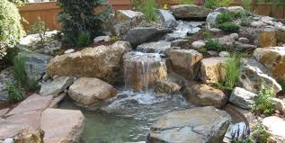 Backyard Decoration Ideas Aquascape Inspiring Backyard Water Feature Small Pond Grey Rocks