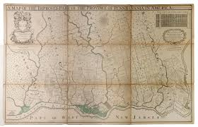 A Map Of Pennsylvania by A Map Of The Improved Part Of The Province Of Pennsylvania In
