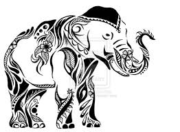 best 25 tribal elephant drawing ideas on pinterest tribal