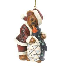 boyds bears jolly klausbeary with waddles ornament