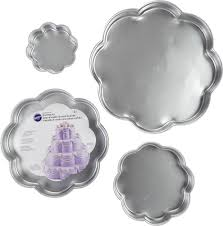 Halloween Cake Pans by Amazon Com Wilton Performance Cake Pans Round Pan 4 Piece Set