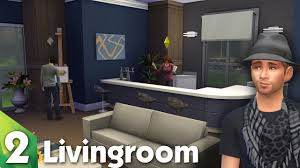 Sims Kitchen Ideas The Sims 4 Room Design The Lovely Livingroom Youtube