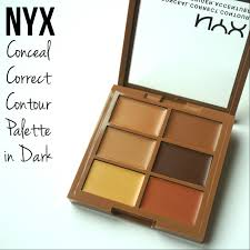 nyx colour correcting concealer palette review nyx conceal correct contour palette in amanda