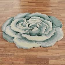 flower area rugs pink flower shaped wool rug rug designs