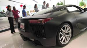 lexus lfa new price lexus lf a in malaysia youtube