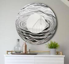 wilco home decor wilco home timberland medium barrel top metal wall mirror ebay