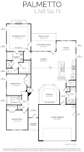 Floor Plan With Elevation by Palmetto U2013 Elevation F U2013 Welcome To Realstar Homes