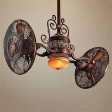 dual fan ceiling fan two fans on a light home fixtures pinterest fans lights