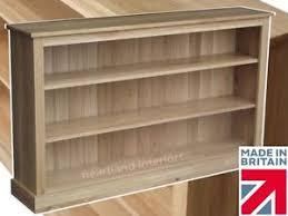 Oak Bookshelves by Solid Oak Bookcase Contemporary 5ft Wide Adjustable Display Unit