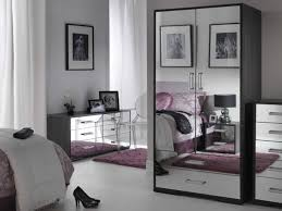 Black And Mirrored Bedroom Furniture Mirrored Glass Bedroom Furniture Moncler Factory Outlets Com