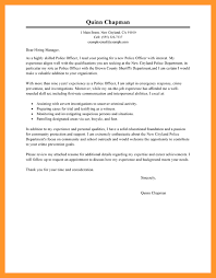 cover letter police officer how to write a cover letter email sop example