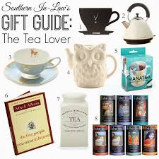 southern in law gift guide for the tea lover