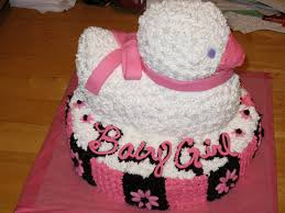 photo pink and camo baby shower image baby shower cakes ideas for photo baby shower cakes for image