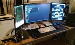 Best Home Computer Desk Best Best Computer Desk Setup Images Liltigertoo