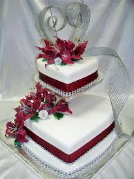 Heart Shaped Wedding Anniversary Cakes Tiered Cakes Cake And