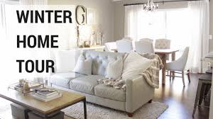 winter home decor tour 2017 youtube