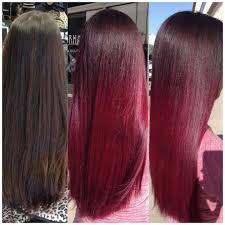 black hair to raspberry hair how to chocolate raspberry career modern salon