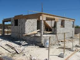 How To Build A Concrete Block House | advice for home owners cement concrete and block wall
