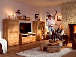 wohnzimmerschrank 4 meter wohnwand mit couchtisch balkeneiche woody 156 00461 holz modern