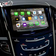 cadillac srx cue system android 4 4 5 1 gps navigation box for cadillac srx etc intellink