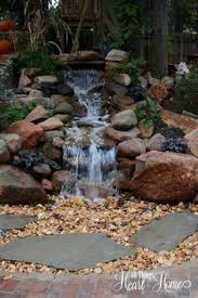Water Features Backyard by Directions For Installing A Pondless Waterfall Without Buying An