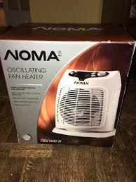 oscillating fan and heater oscillating fan heater brand new