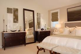 Transitional Bedroom Furniture by Mirrored Lingerie Chest Bedroom Transitional With Chest Of Drawers