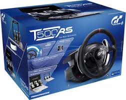 volante ps3 thrustmaster thrustmaster t500 rs wheel with feedback gt5 gt6 gran